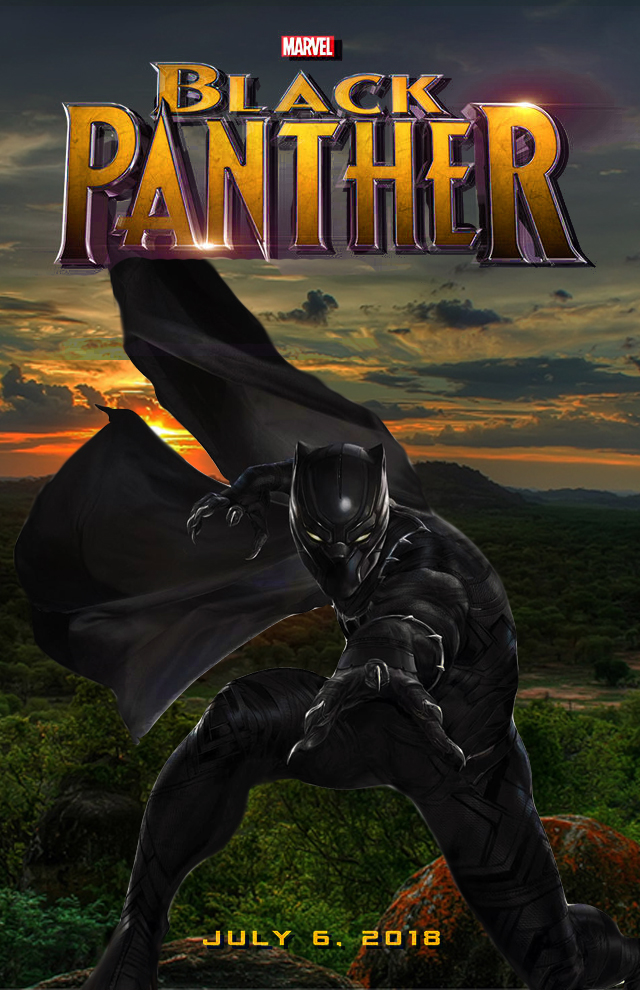 Marvel Black Panther Movie Poster