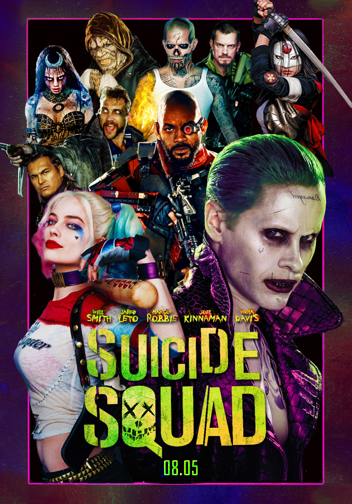 suicide squad poster by dcomp on deviantart. Black Bedroom Furniture Sets. Home Design Ideas