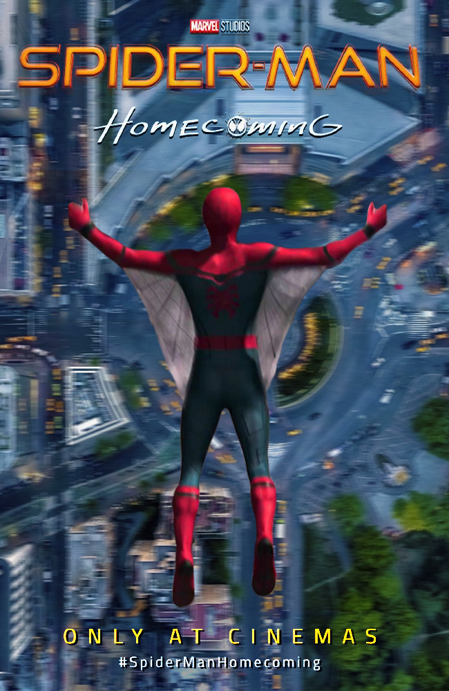 Spider-Man: Homecoming movie poster by DComp on DeviantArt