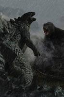 Godzilla vs King Kong concept by DComp