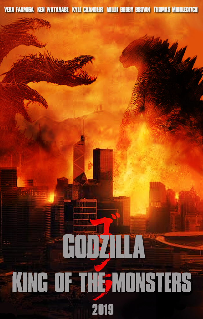 Godzilla King Of The Monsters Poster DComp (Danny) |...