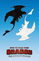 How to Train Your Dragon: The Hidden World poster by DComp