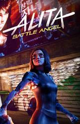 Alita: Battle Angel poster by DComp