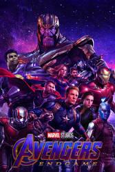 Avengers: Endgame poster by DComp