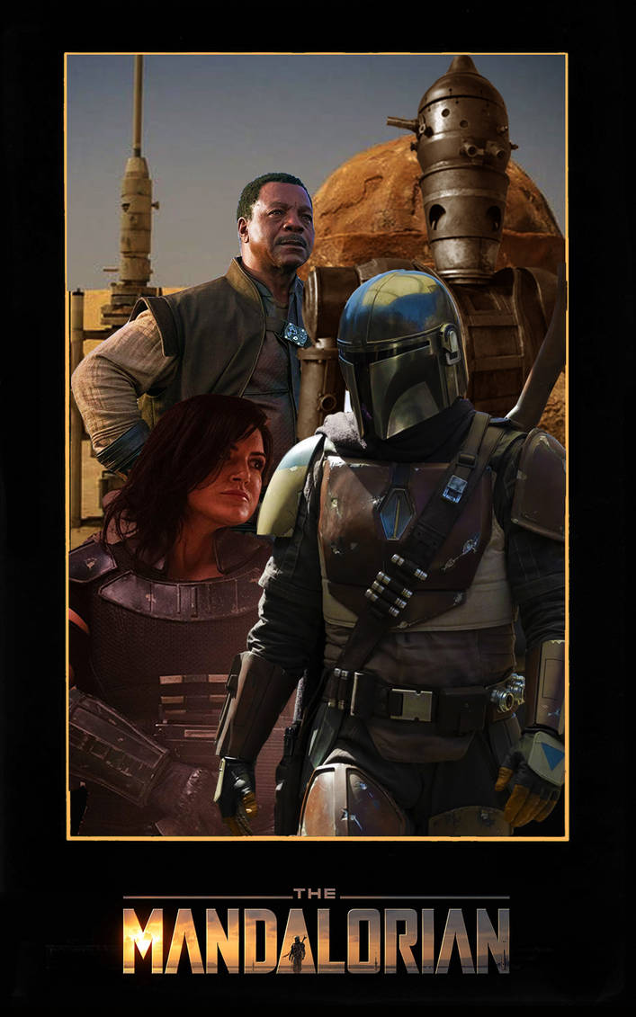 The Mandalorian poster by DComp