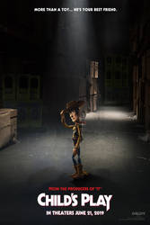 Child's Play/Toy Story 4 mash up poster by DComp