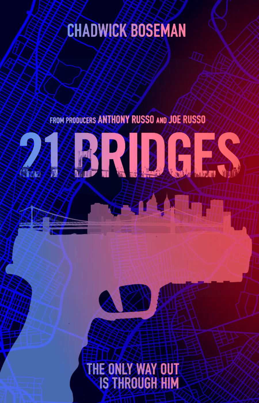 21 Bridges Movie Poster By Dcomp On Deviantart