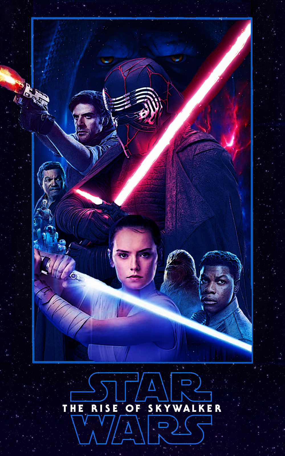 Star Wars The Rise Of Skywalker Movie Poster By Dcomp On Deviantart
