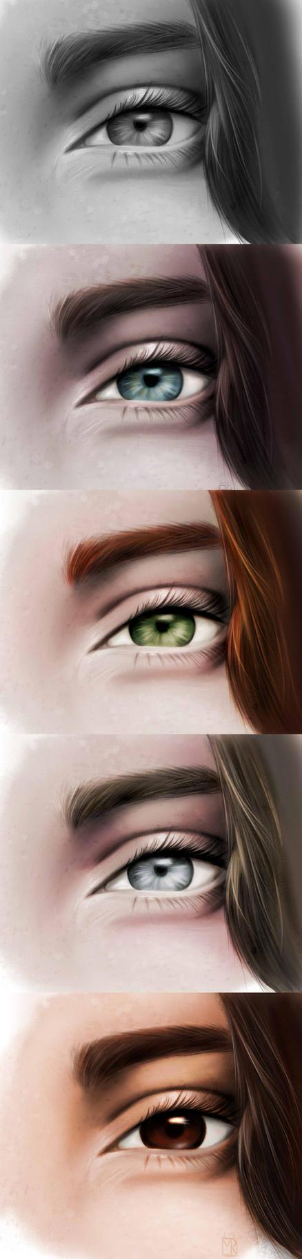 eyes exercise by MistyRoxy