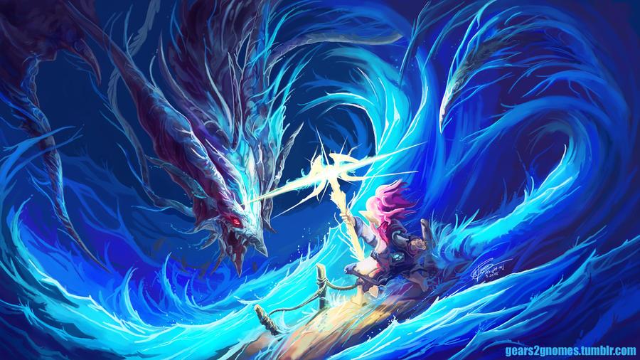 FFXIV Leviathan trial by knight-mj on DeviantArt