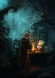 Critical Role - Book Store by knight-mj
