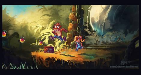 AGDQ2018-Crash Bandicoot