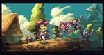 AGDQ2018-Wonder Boy Dragons Trap by knight-mj