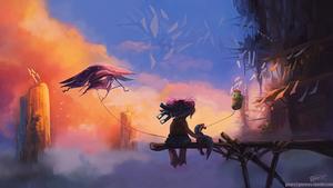 Guild Wars 2 - Dawn at the Bazaar