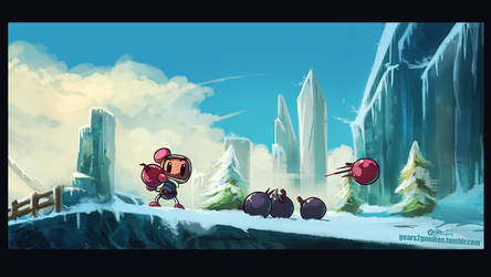 AGDQ2019 Bomberman 64 by knight-mj