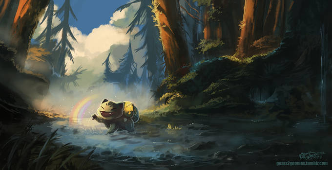 Pokemon - Rainbow by knight-mj
