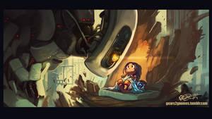 SGDQ 2019 - Portal 2 by knight-mj