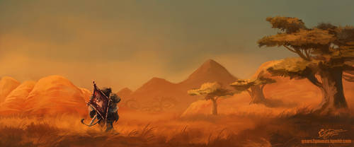 World of Warcraft - The Barrens