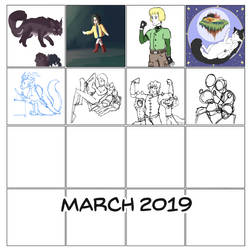 4x4 Square March WIPs