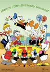 Donald Duck 75 years
