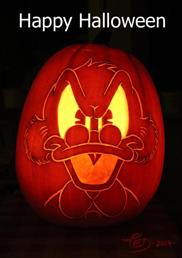 Happy Halloween 2014 by TedJohansson
