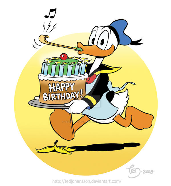 Duck Birthday Cake Images