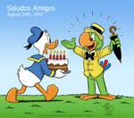 Donald congratulates Jose