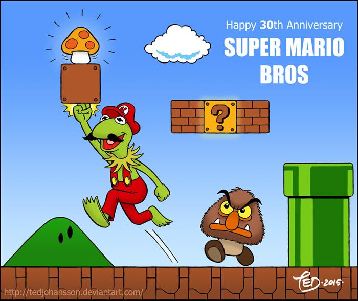 Super Mario Frog by TedJohansson on DeviantArt
