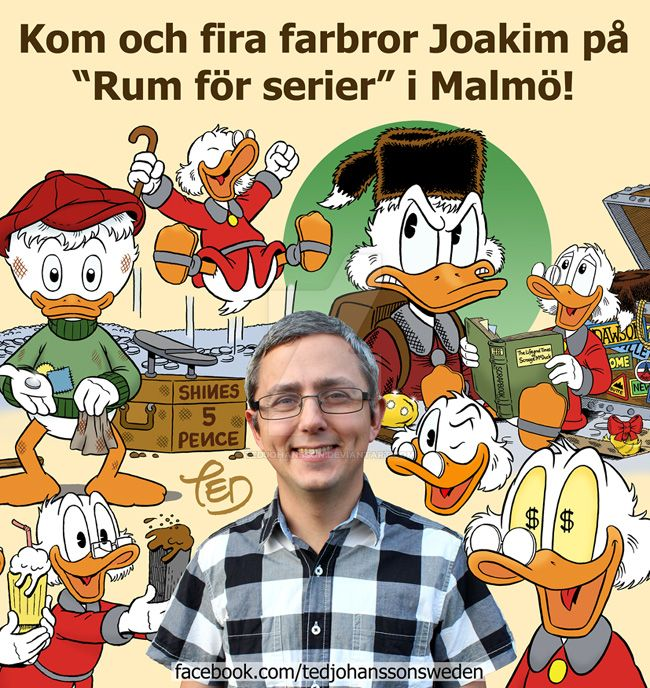 Scrooge McDuck collage by TedJohansson
