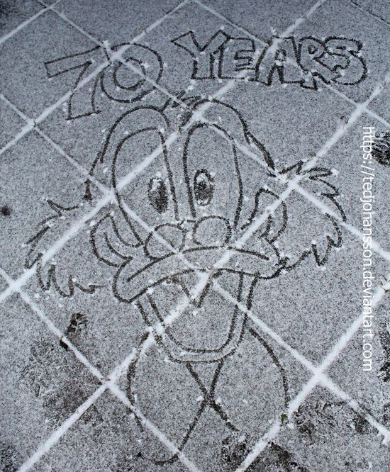 The 70th anniversary of Scrooge McDuck by TedJohansson
