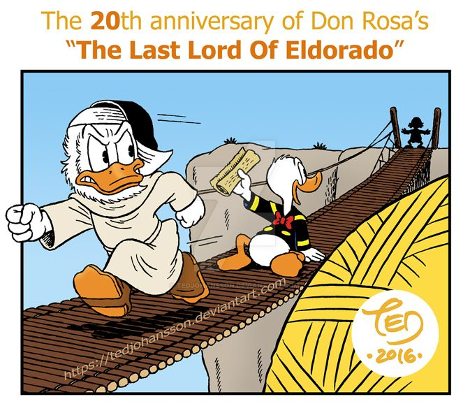 The 20th anniversary of The Last Lord Of Eldorado by TedJohansson
