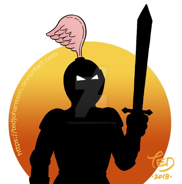 The Black Knight by TedJohansson