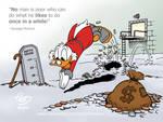 Diving Scrooge