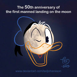 The 50th anniversary of The Moon Landing