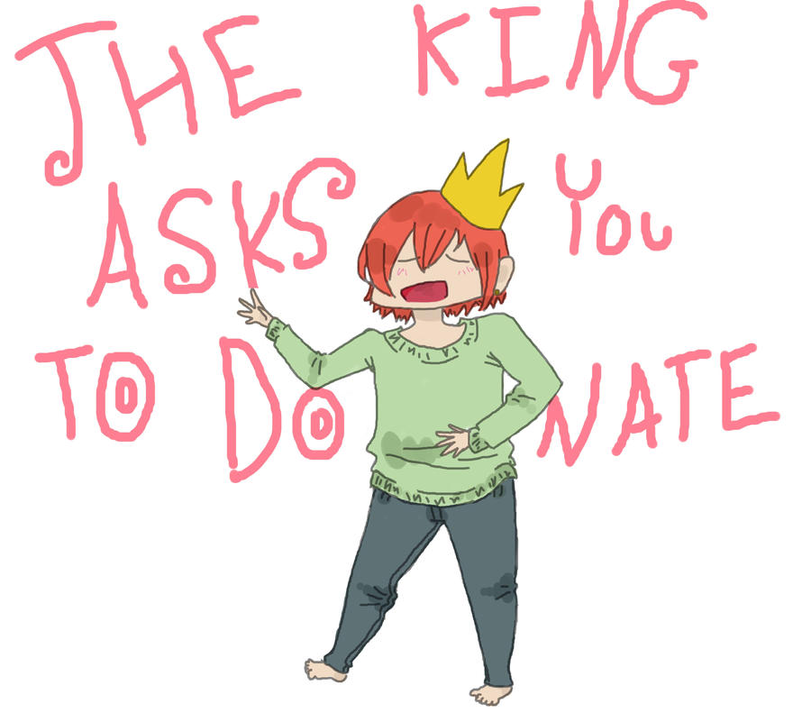 so says the king by kannahXkiba