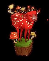 Mooshroom by TentacleWaitress