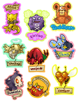 Misc. Pokemon by TentacleWaitress