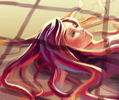 Speed Painting. by cactusrain