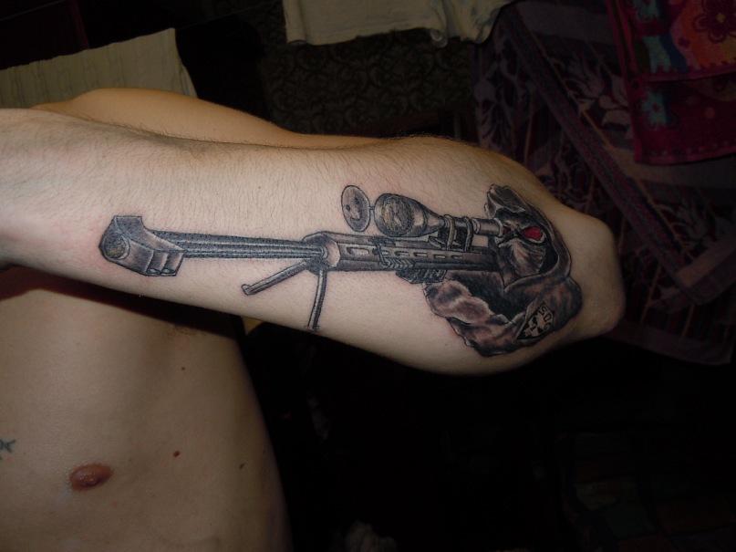 Army Sniper Tattoos Designs By vmax07 in tattoo designArmy Sniper Tattoos