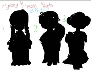 MYSTERY PRINCESS ADOPTS (OPEN) by sarymarie