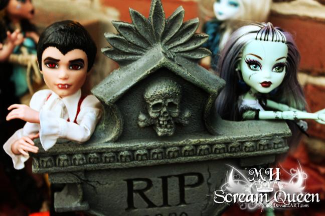 Frankie + Draculoagn RIP by KittRen