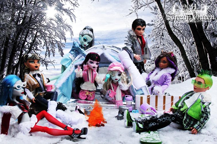 Monster High Winter Wonderland by KittRen ... & Monster High Winter Wonderland by KittRen on DeviantArt