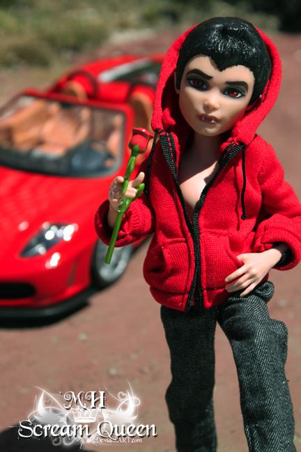 Ferocious Ferrari by KittRen
