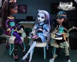 Ghoul School by KittRen