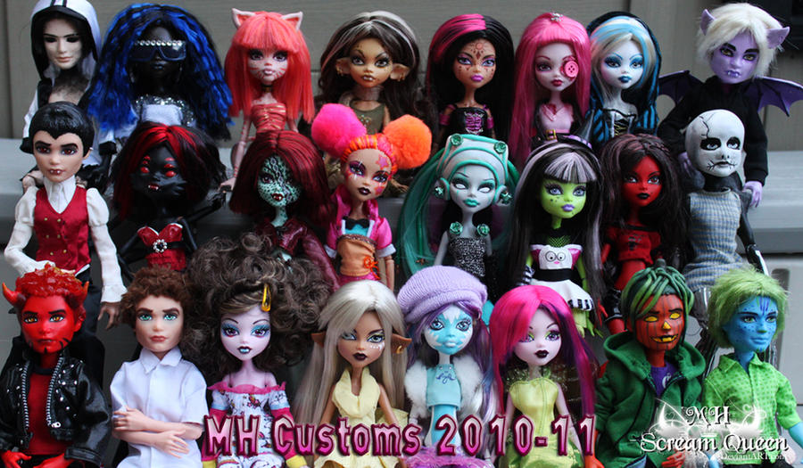 MH Customs 2010-2011 by KittRen