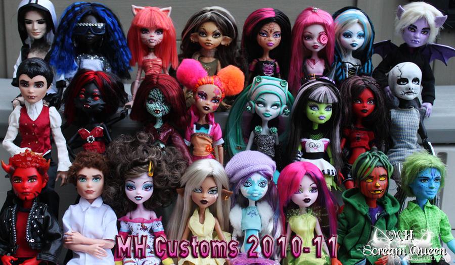 MH Customs 2010-2011 by KittRen