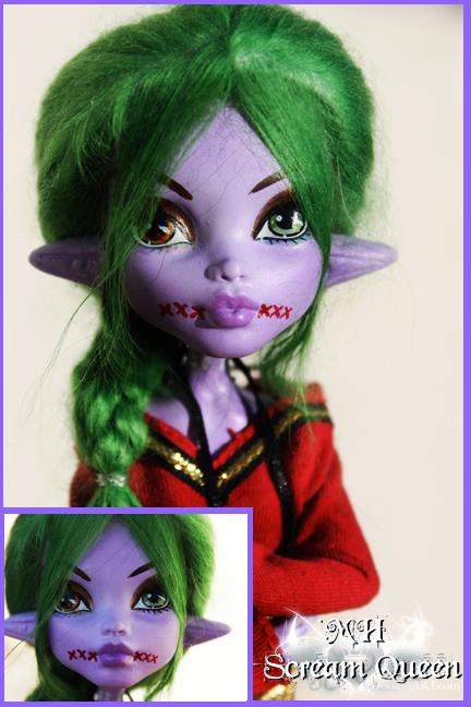 Regan Flynn Custom Contest Doll by KittRen