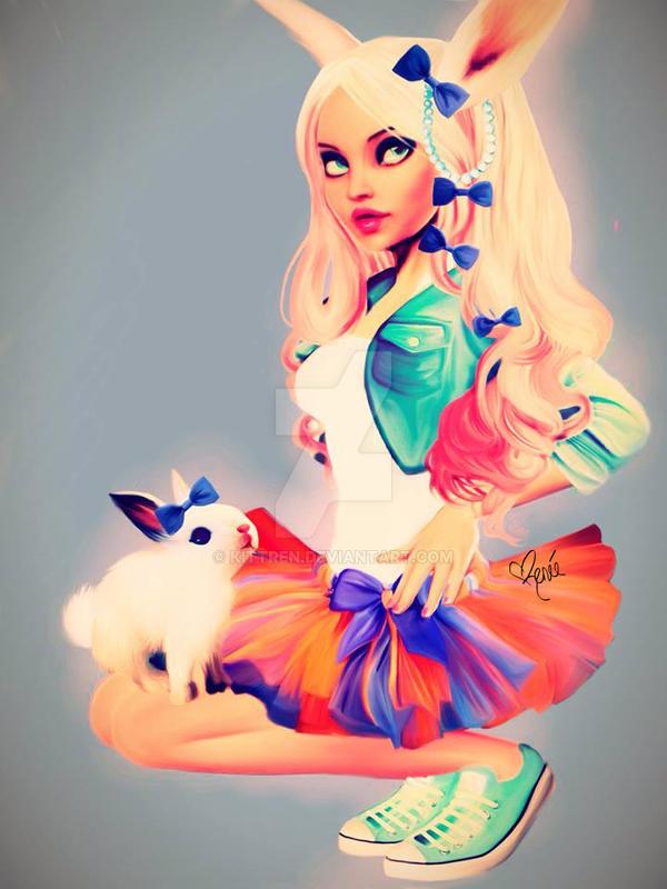 Bunny Girl by KittRen
