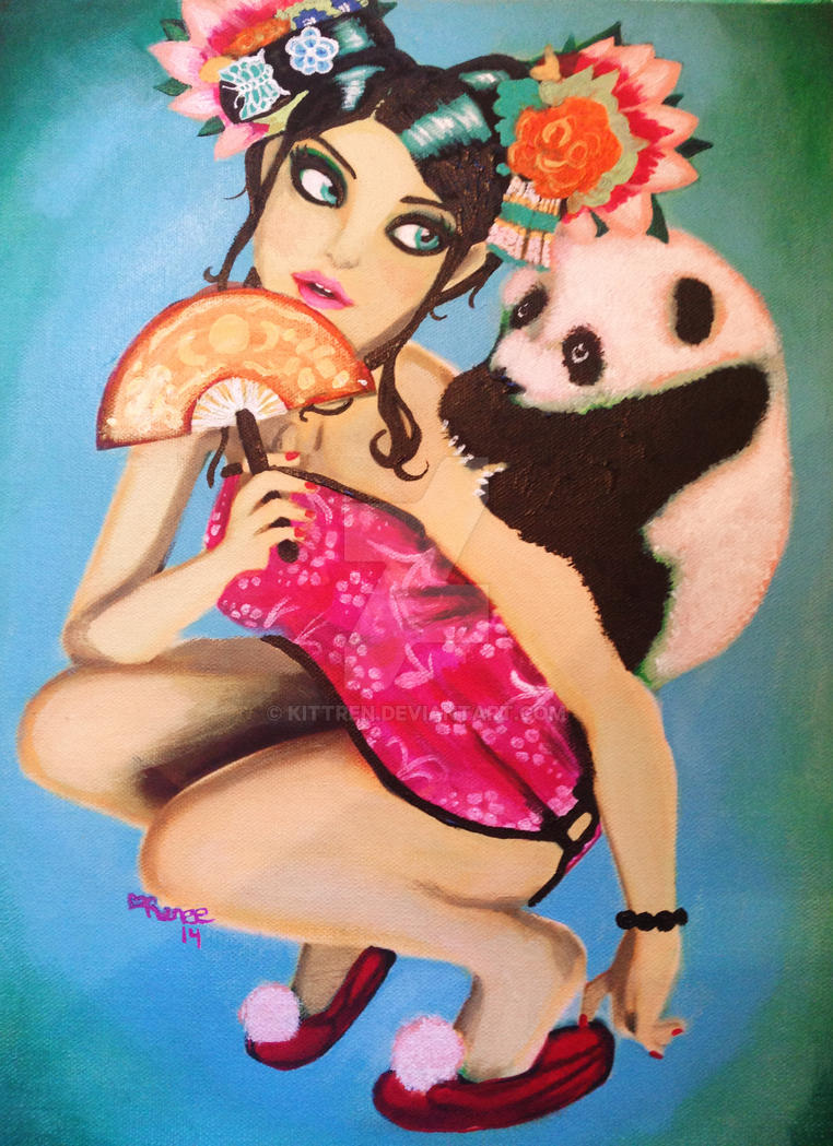 Little Panda by KittRen