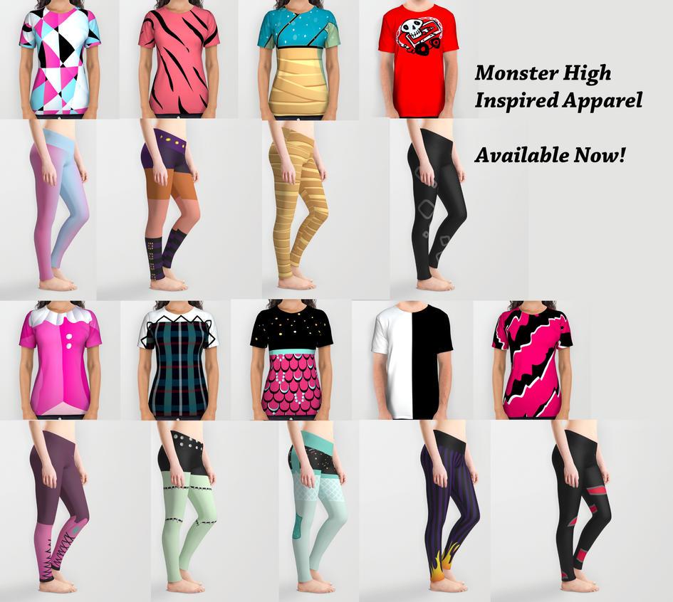 Monster High Inspired Apparel by KittRen